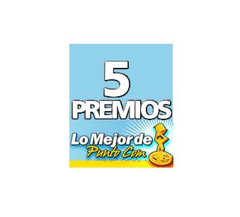 5 premios Lo Mejor De Punto Com
