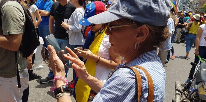 campaña viral ciberactivismo en venezuela