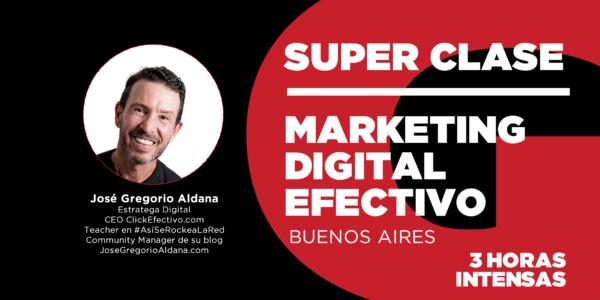Clase de Marketing Digital Efectivo